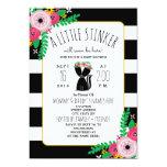 Boho Skunk Little Stinker Baby Shower Invitation