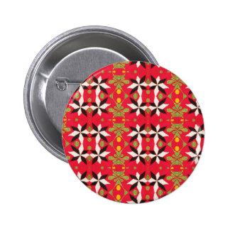 Boho Southwest Tribal theme Button