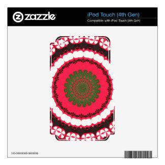 Boho Southwest Tribal theme iPod Touch 4G Decal