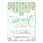 Boho Sweet Sixteen Card