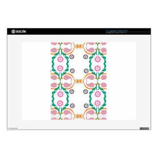 "Boho Urban Colorful Pattern Illustration Design Skin For 15"" Laptop"