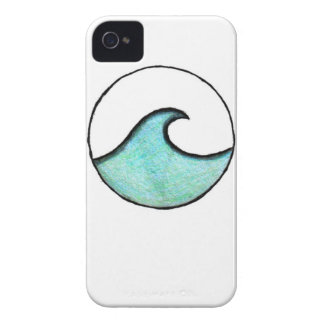 Boho Wave Painting iPhone 4 Cover