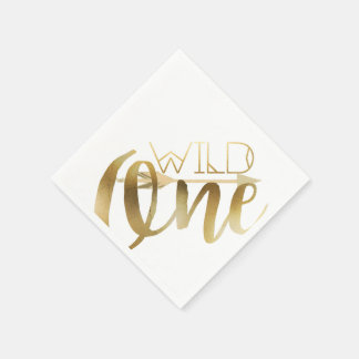 Boho Wild One | First Birthday Party Paper Napkin