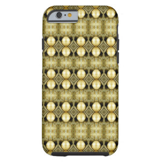 Boho Yellow Gold Gypsy Coin Bohemian Statement Tough iPhone 6 Case