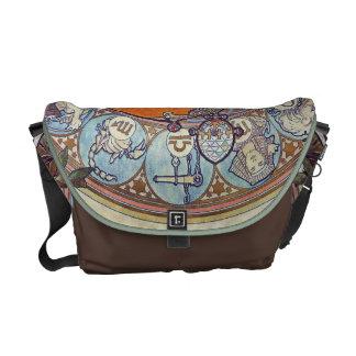 Boho Zodiac Woman Decorative Messenger Bag