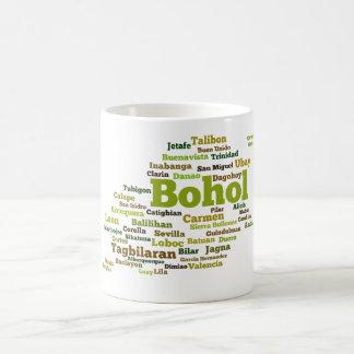 Bohol Geographic Wordcloud mosquito Coffee Mug