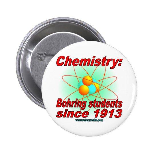 Bohr Atom Pinback Button