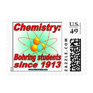 Bohr Atom Postage Stamp