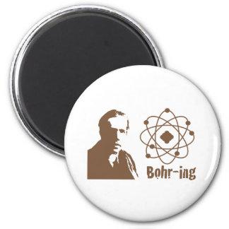 Bohr-ing 2 Inch Round Magnet