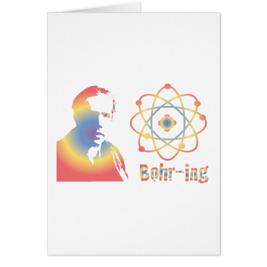 Bohr-ring Card