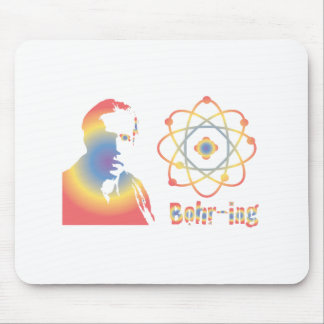 Bohr-ring Mouse Pad