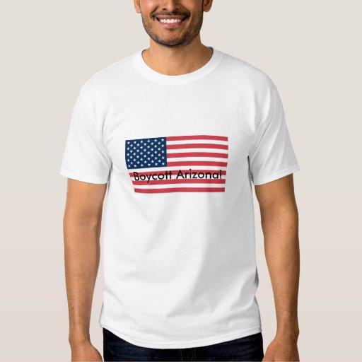 ¡Boicoteo Arizona! Camisas