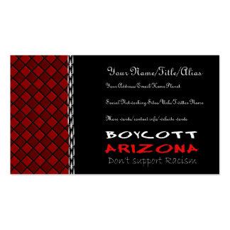 Boicoteo Arizona Tarjetas De Visita