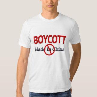 BOICOTEO HECHO EN CHINA CAMISAS