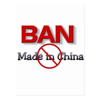 BOICOTEO HECHO EN CHINA POSTALES