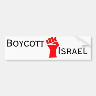 Boicoteo Israel Pegatina Para Auto