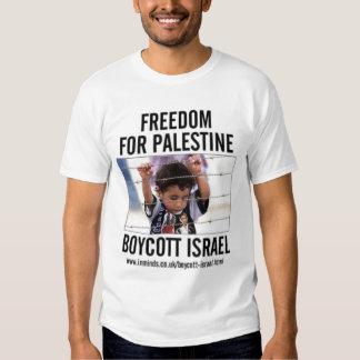 Boicoteo Israel Playera
