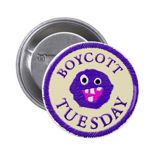 Boicoteo martes pin