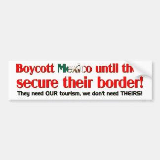 Boicoteo México Pegatina De Parachoque