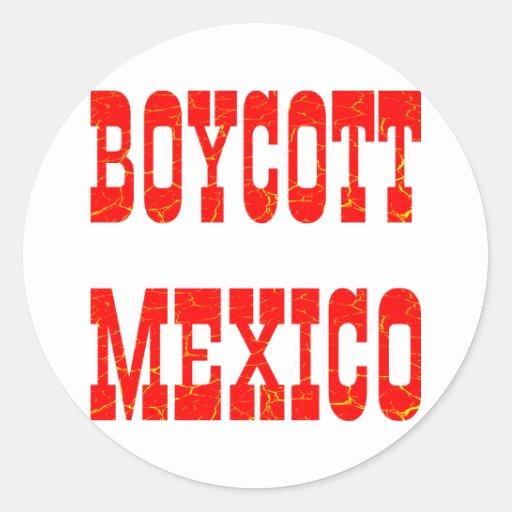 Boicoteo México Etiqueta