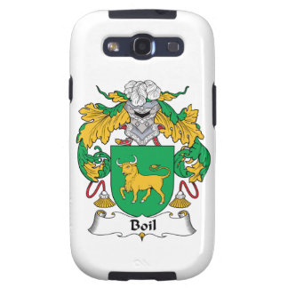 Boil Family Crest Galaxy SIII Covers