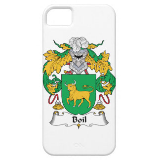 Boil Family Crest iPhone 5 Case