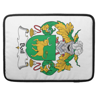 Boil Family Crest MacBook Pro Sleeves