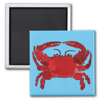 Boiled Blue Crab, Maryland, Louisiana, Delaware Magnet