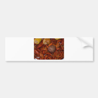 boiled crawfish bumper sticker