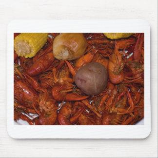 boiled crawfish mouse pad
