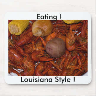 boiled crawfish mouse pad