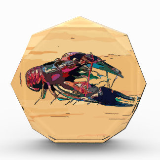 Boiled Crawfish on Wood Award
