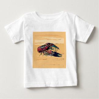 Boiled Crawfish on Wood Baby T-Shirt