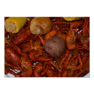 boiled crawfish poster