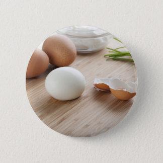 Boiled Eggs Pinback Button