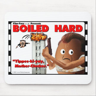 BOILED HARD Film-Face Funny spoof DIE HARD Mouse Pad