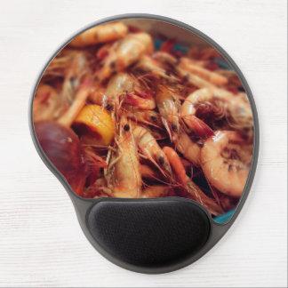 Boiled Shrimp Food Photo Gel Mouse Pad