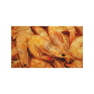 Boiled Shrimp - Louisiana Canvas Prints