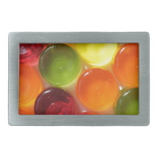 Boiled sweets rectangular belt buckle