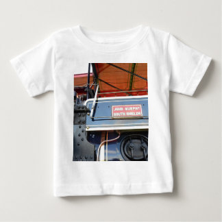 Boiler Detail Traction Engine Renown Baby T-Shirt