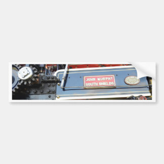Boiler Detail Traction Engine Renown Bumper Sticker