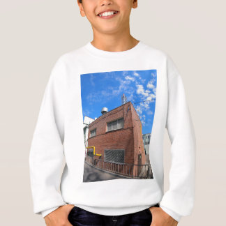 Boiler house with a gas pipe sweatshirt