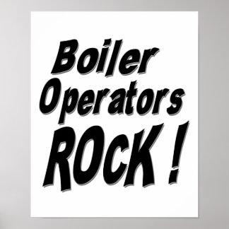 Boiler Operators Rock! Poster Print