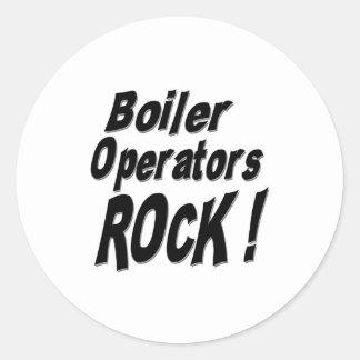 Boiler Operators Rock! Sticker