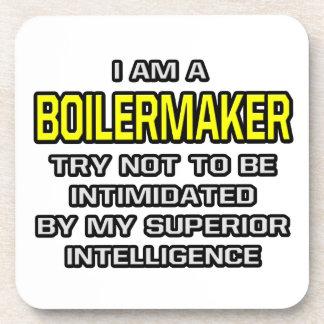 Boilermaker Joke ... Superior Intelligence Coaster