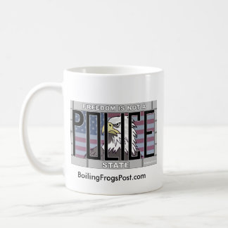 "Boiling Frogs Post ""Freedom"" Mug"