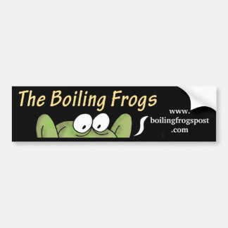 Boiling Frogs Post © Rear Window/ Bumper Sticker