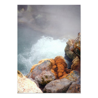 Boiling hot spring card