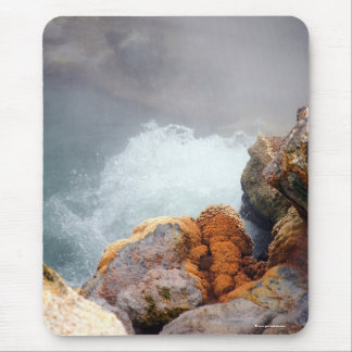 Boiling hot spring mouse pad
