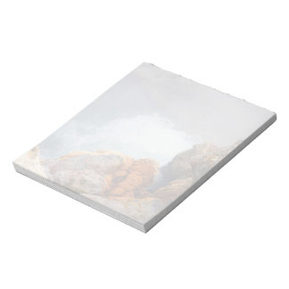 Boiling hot spring notepad